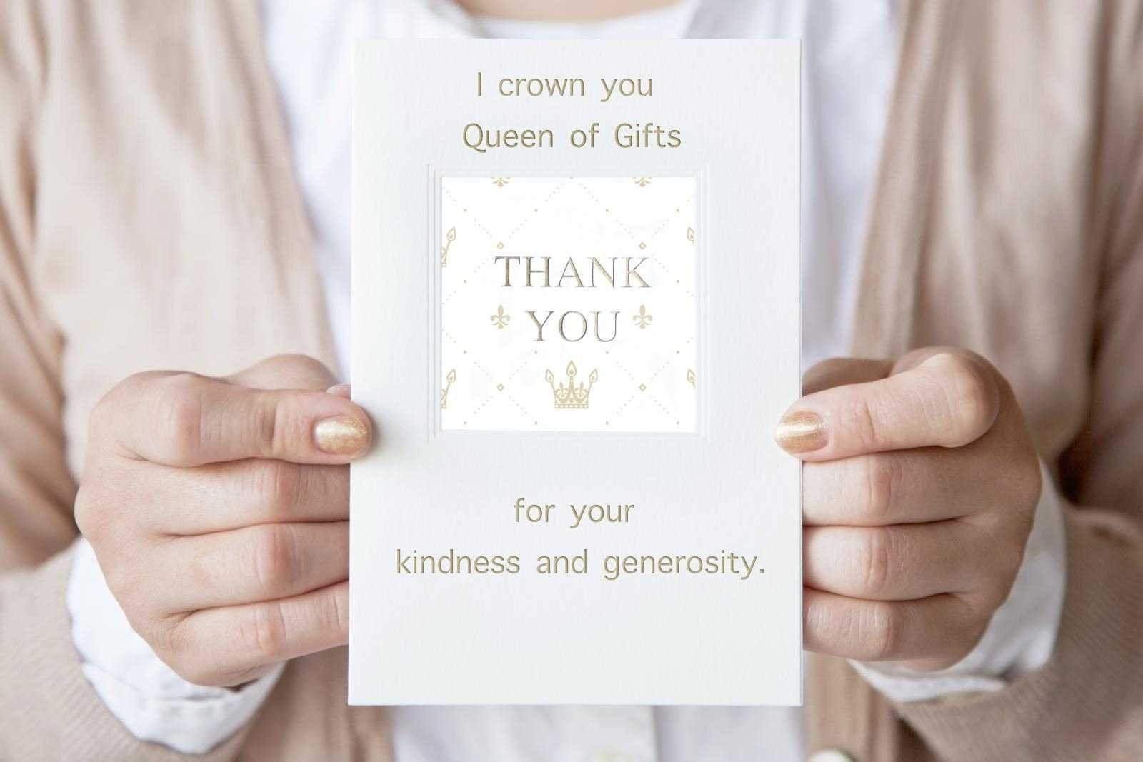Creative Wording Examples For A Baby Shower Thank You Card Inside Template For Baby Shower Thank You Cards