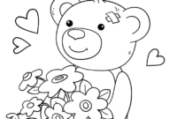 Cute Get Well Soon Coloring Page   Free Printable Coloring Pages within Get Well Soon Card Template