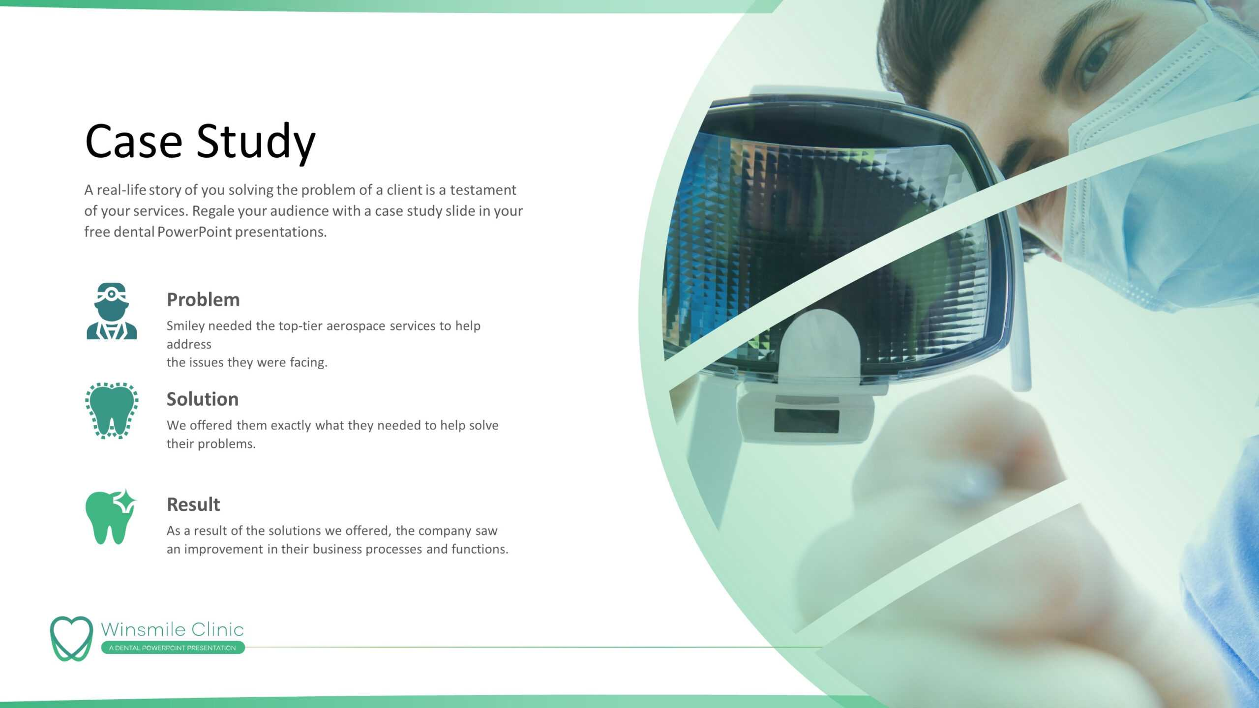 Dentistry Premium Powerpoint Template - Slidestore Regarding Radiology Powerpoint Template