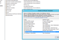 Deploying 8021.x Eap-Tls With Polycom Vvx Phones Part 2/2 inside Certificate Authority Templates