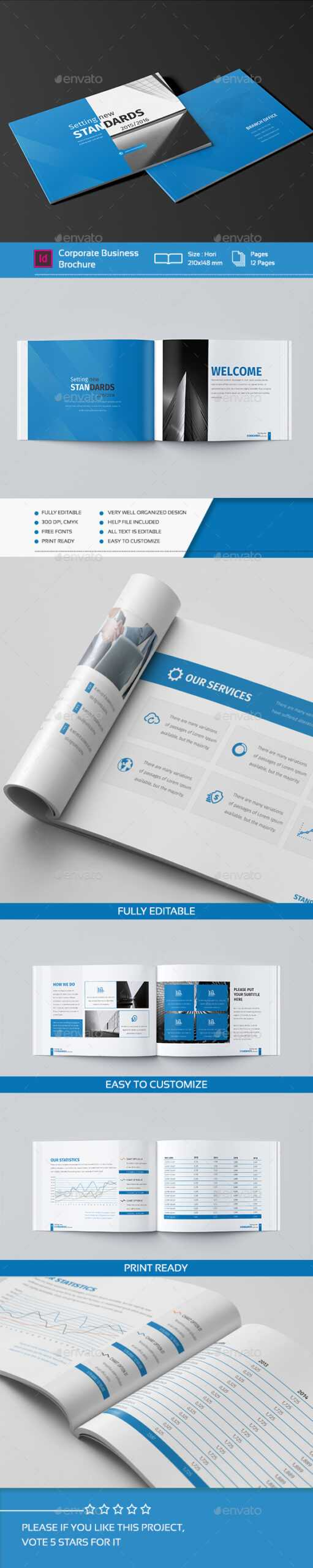 Design And Mini Graphics, Designs & Templates From Pertaining To 12 Page Brochure Template