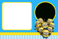 Despicable Me: Invitations And Party Free Printables. – Oh pertaining to Minion Card Template