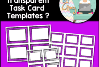 Digiamy: What Are Transparent Task Card Templates? for Task Card Template