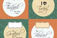 Diy Printable Thanksgiving Silverware Place Card Holders | intended for Thanksgiving Place Cards Template