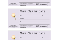Donation Gift Certificate | Templates At Allbusinesstemplates within Golf Gift Certificate Template