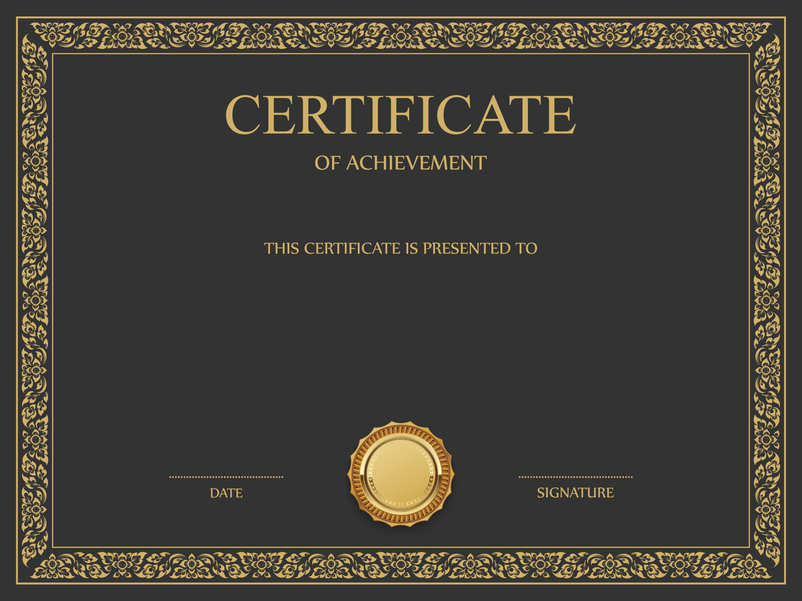 Download Free Png Certificate Template Png – Dlpng With Free Ordination Certificate Template
