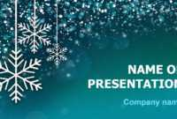 Download Free Snowing Snow Powerpoint Theme For Presentation in Snow Powerpoint Template