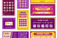 ᐈ Scratch Off Card Templates Stock Pictures, Royalty Free pertaining to Scratch Off Card Templates