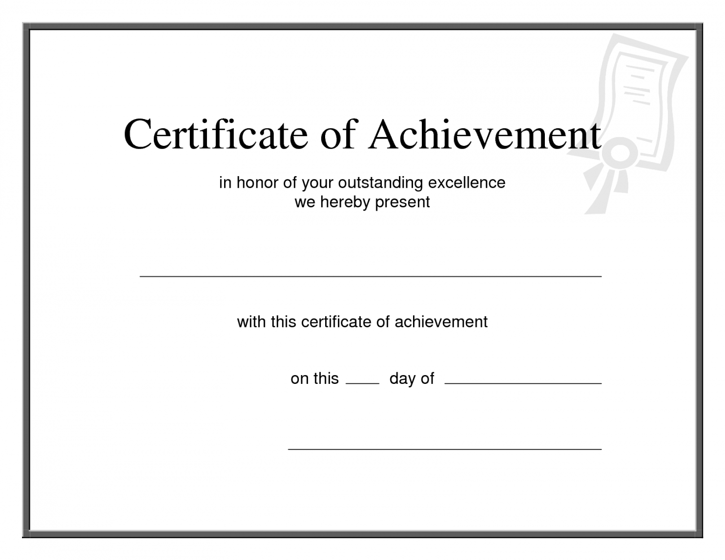 Editable 25 Images Of Printable Promotion Certificate With Promotion Certificate Template