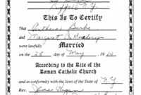Editable Collection Of Solutions For Roman Catholic Baptism within Roman Catholic Baptism Certificate Template
