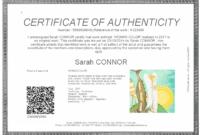 Everything You Need To Know About Coa + Certificate Of within Certificate Of Authenticity Template