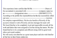 Experience Certificate For Accountant-01   Best Letter Template in Template Of Experience Certificate