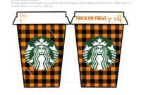 "Fall ""thanks A Latte"" Starbucks Gift Card Holder – Free for Thanks A Latte Card Template"