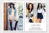 Fashion Model Comp Card Template with regard to Free Comp Card Template
