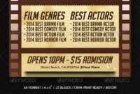 Film Festival Graphics, Designs & Templates From Graphicriver with Film Festival Brochure Template