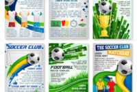 Football Or Soccer Game Banner, Sport Club Design — Stock with regard to Football Referee Game Card Template