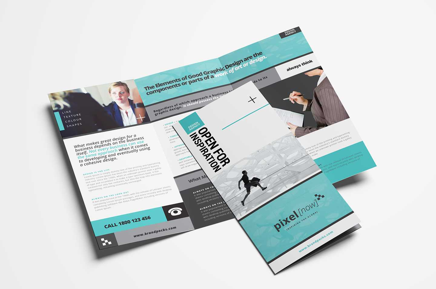 Free Business Trifold Brochure Template In Psd & Vector In Free Tri Fold Business Brochure Templates