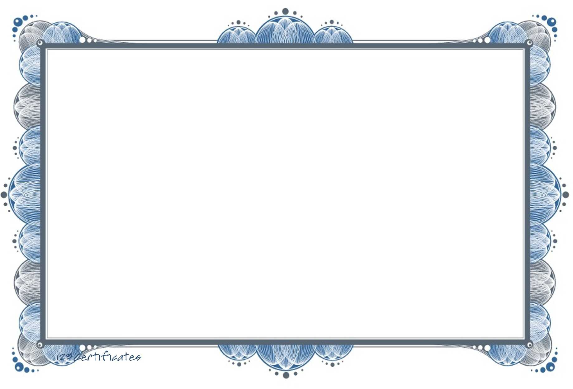 Free Certificate Borders, Download Free Clip Art, Free Clip With Certificate Border Design Templates