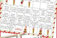 Free Christmas Calendar & Random Acts Of Kindness Ideas within Random Acts Of Kindness Cards Templates