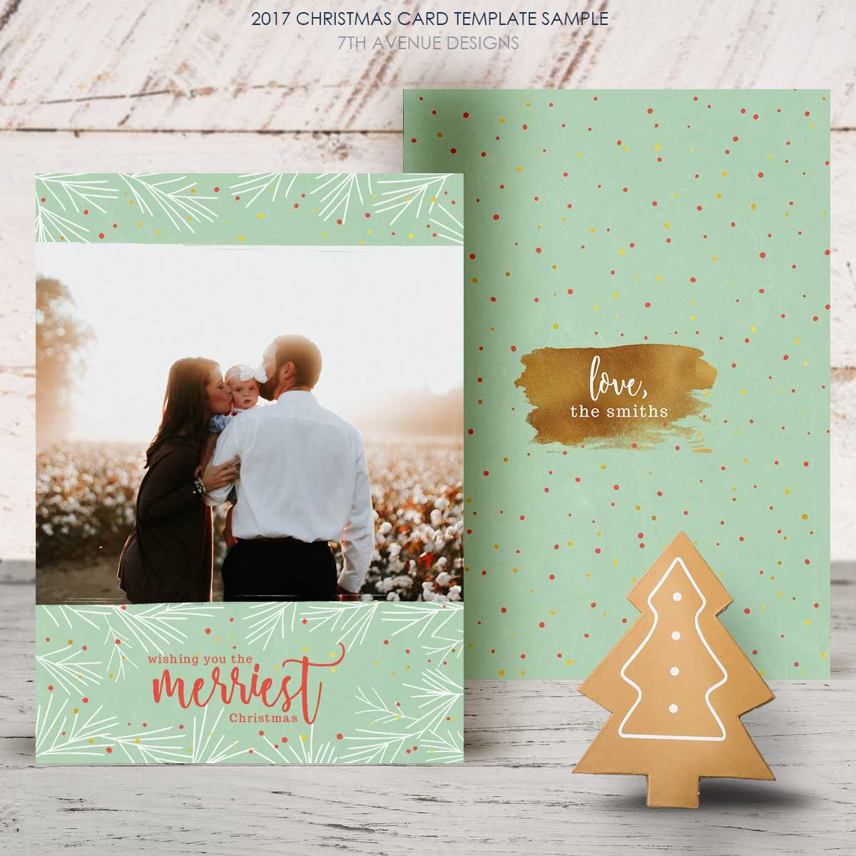 Free Christmas Card 2017 [Freecc2017] – It's Free Pertaining To Free Christmas Card Templates For Photographers