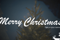 Free Christmas Greeting Card For Powerpoint | Download Free pertaining to Greeting Card Template Powerpoint