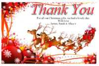 Free-Christmas-Thank-You-Cards-Free – Supportive Guru pertaining to Christmas Thank You Card Templates Free