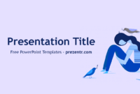 Free Depression Powerpoint Template - Prezentr Powerpoint within Depression Powerpoint Template