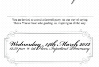 Free Farewell Invitation Templates 31 Best Ideas About with Farewell Certificate Template