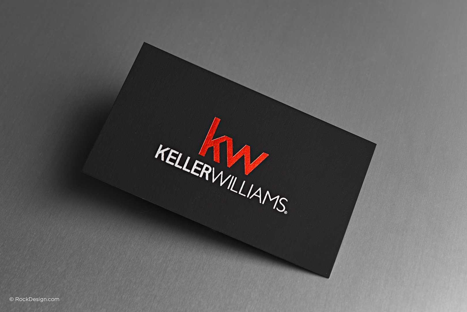 Free Keller Williams Business Card Template With Print For Keller Williams Business Card Templates