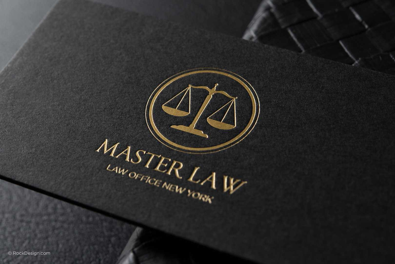 Free Lawyer Business Card Template | Rockdesign With Lawyer Business Cards Templates