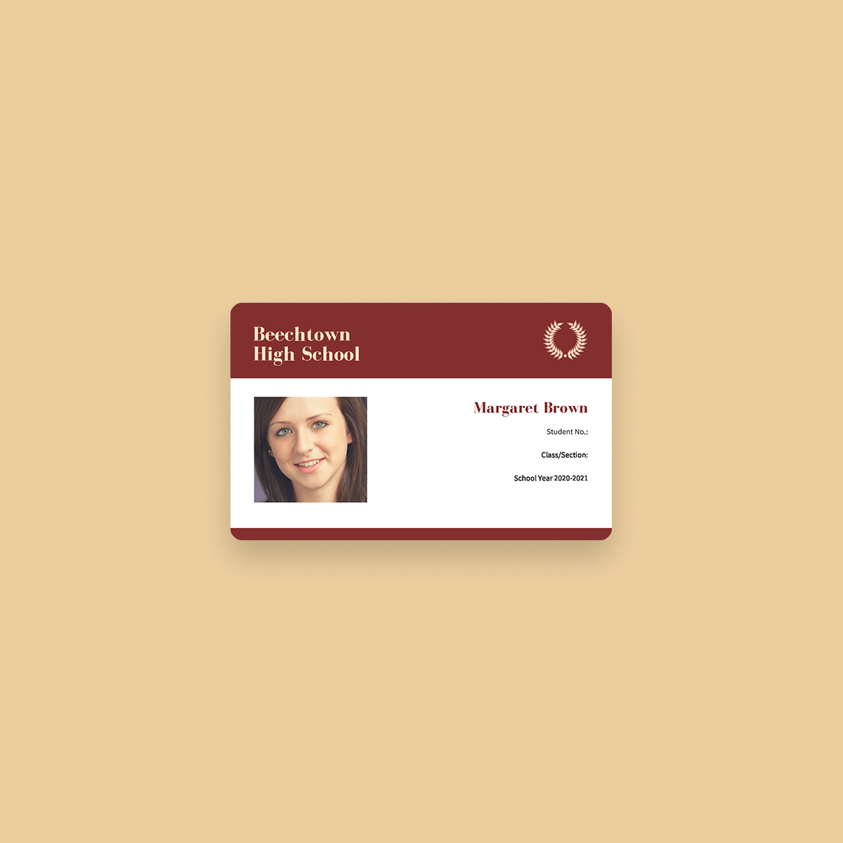 Free Online Id Maker: Design A Custom Id In Canva Regarding High School Id Card Template