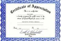Free Perfect Attendance Certificate Template Word Perfect with regard to Attendance Certificate Template Word