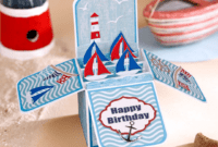Free Pop Up Box Card Template – Simply Cards & Papercraft with Pop Up Box Card Template