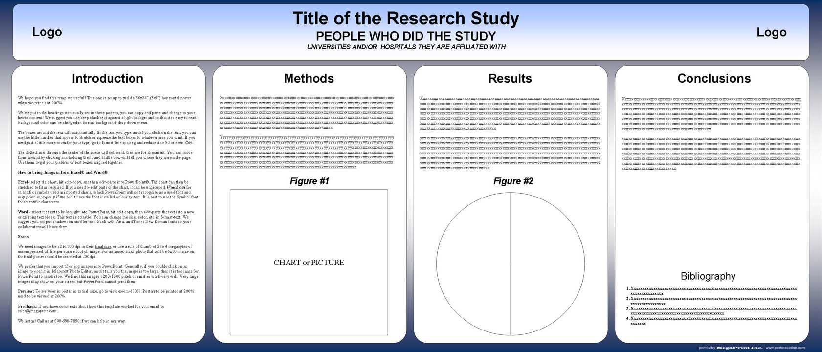 Free Powerpoint Scientific Research Poster Templates For Inside Powerpoint Academic Poster Template