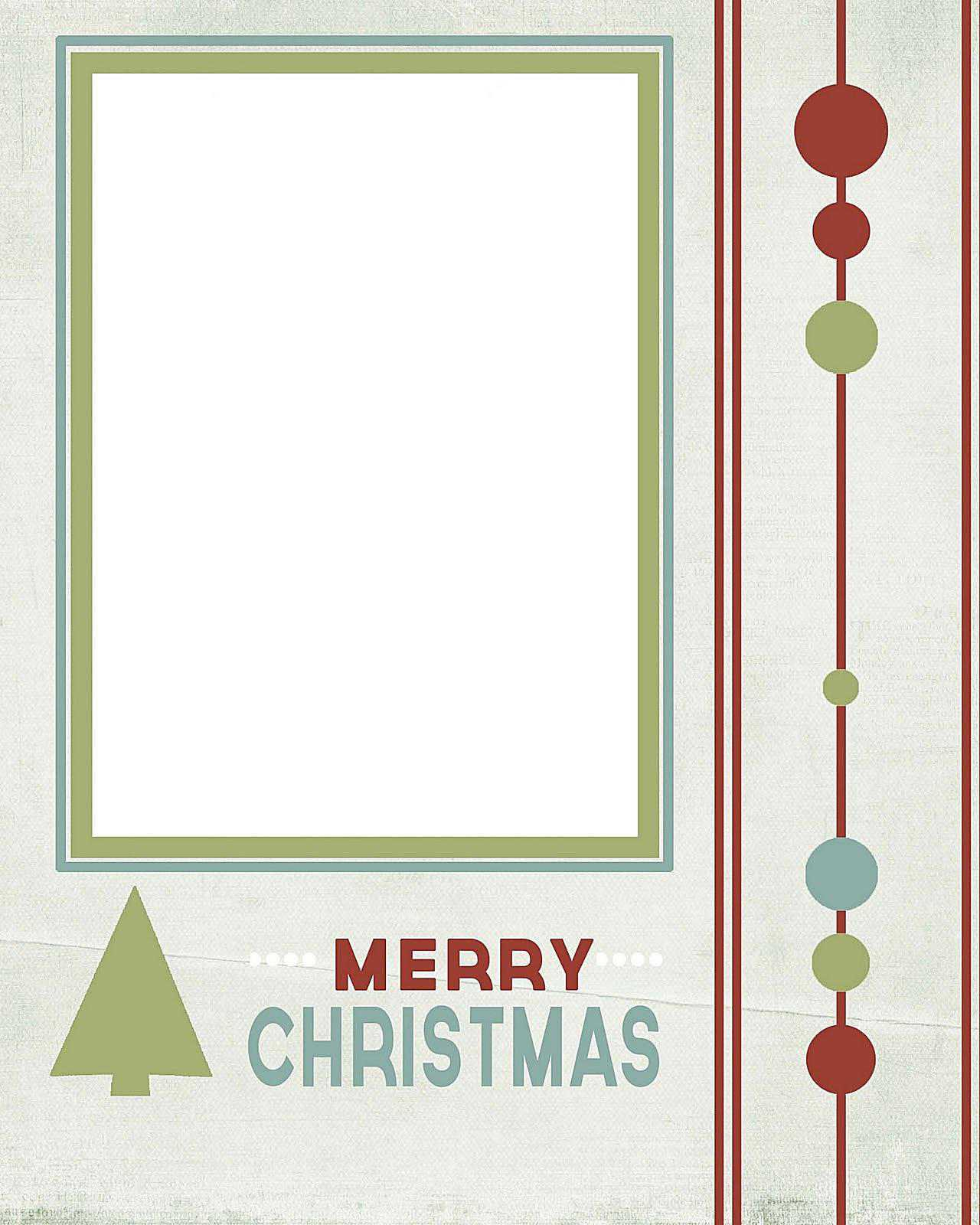 Free Printable Christmas Cards With Photo Insert – Mahre Pertaining To Free Templates For Cards Print