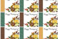 Free Printable Thanksgiving Place Cards — Also Great For with Thanksgiving Place Cards Template