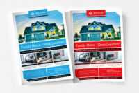 Free Real Estate Templates For Photoshop & Illustrator in Real Estate Brochure Templates Psd Free Download