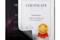 Free School Certificates & Awards Template Name A Star with regard to Star Naming Certificate Template
