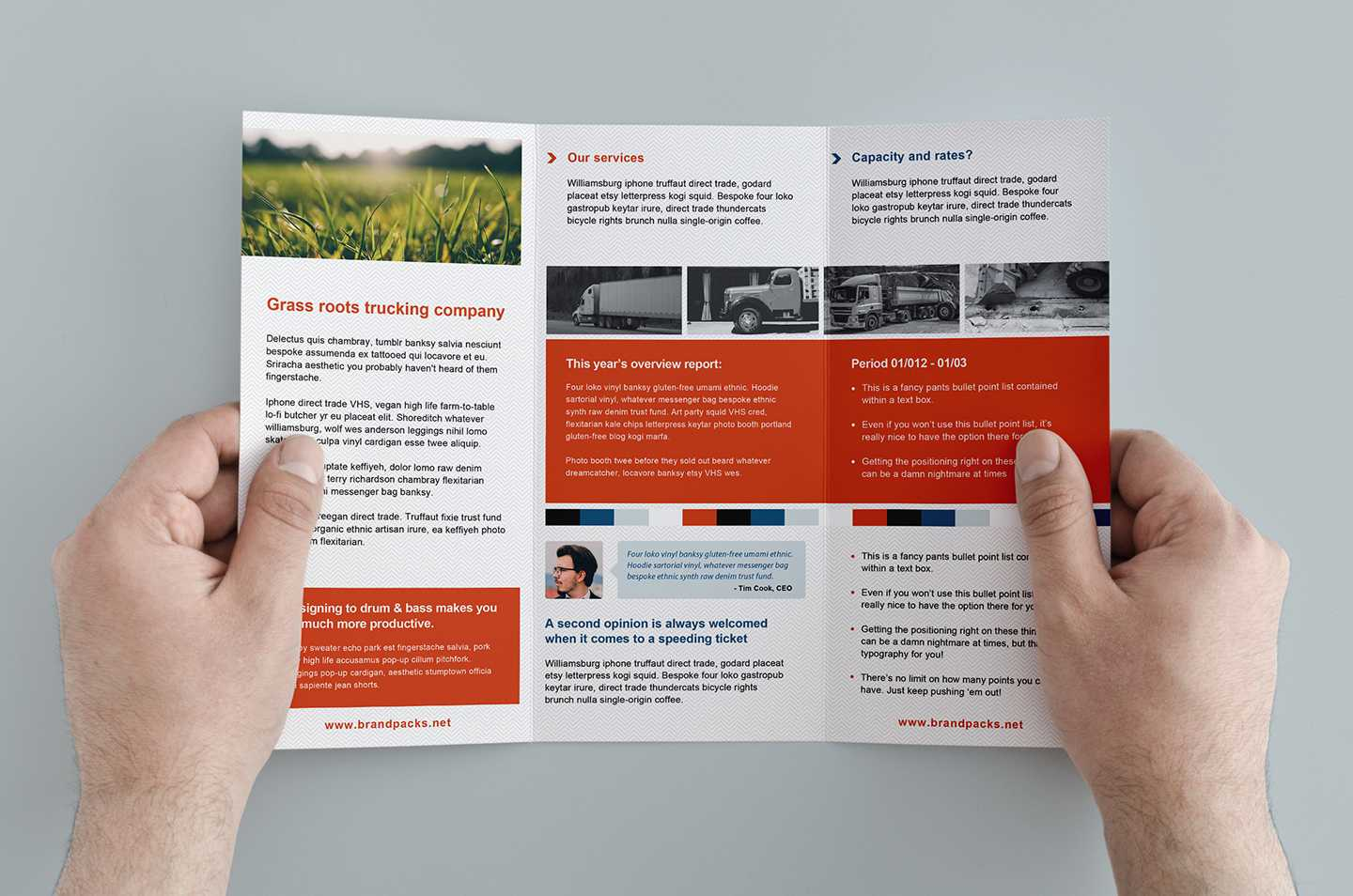 Free Trifold Brochure Template In Psd, Ai & Vector - Brandpacks Intended For Tri Fold Brochure Ai Template