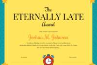 Funny Certificate Template regarding Funny Certificates For Employees Templates