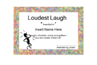Funny Certificate | Templates At Allbusinesstemplates regarding Funny Certificate Templates