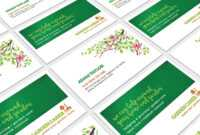 Gardener Business Card Template In Psd, Ai & Vector – Brandpacks with Gardening Business Cards Templates