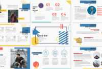 Geometric Free Powerpoint Template – Creative Presentation with regard to Powerpoint Slides Design Templates For Free