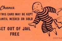 Get Out Of Jail Clipart throughout Get Out Of Jail Free Card Template