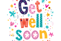 Get Well Soon Card – Zohre.horizonconsulting.co with regard to Get Well Soon Card Template
