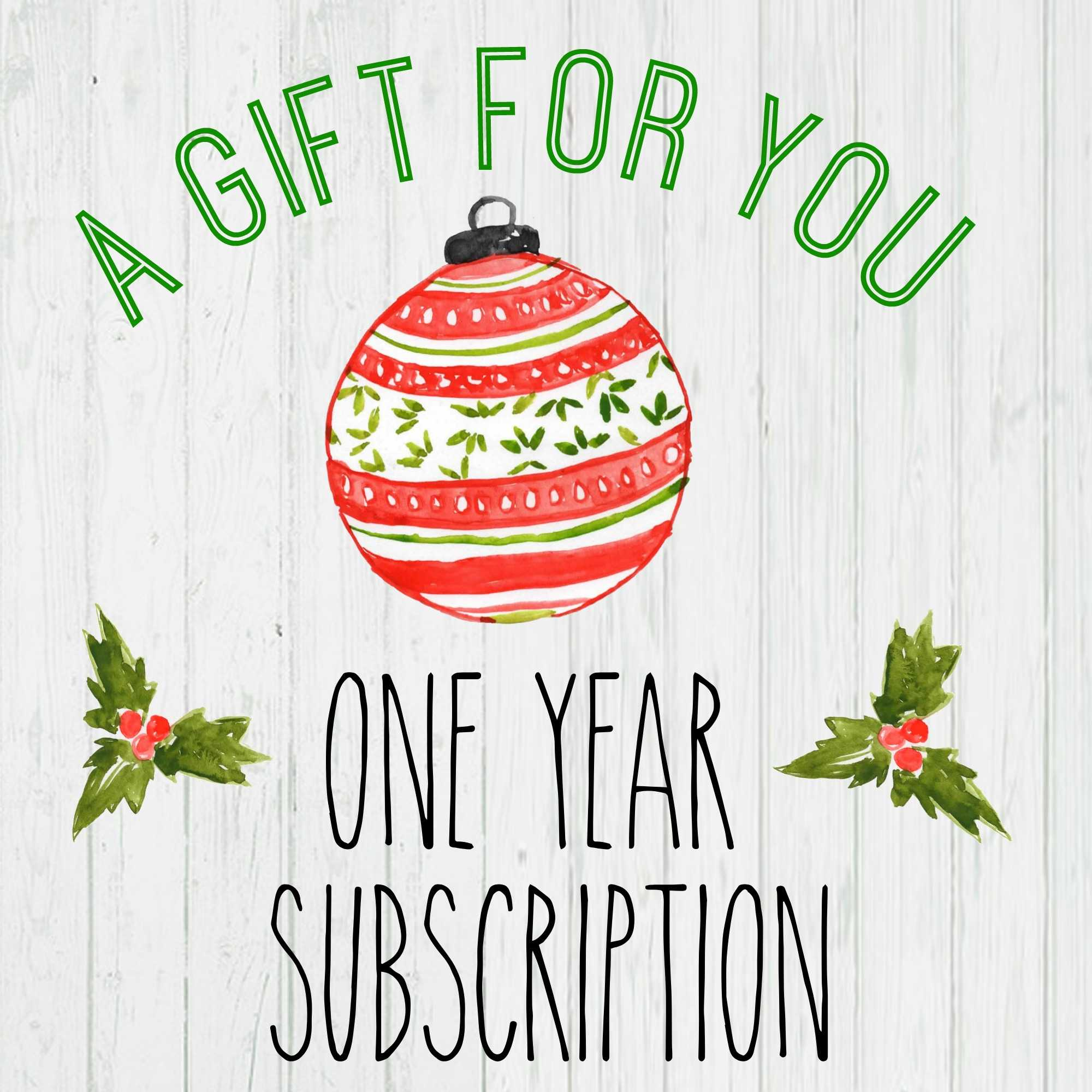 Gift A Magazine Subscription With Our Free Printable Cards Intended For Magazine Subscription Gift Certificate Template