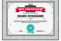 Gift Certificate First Place Award Sign | Signs/symbols with First Place Award Certificate Template