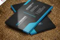 Graphic Designer Business Card Template Free Psd inside Template Name Card Psd