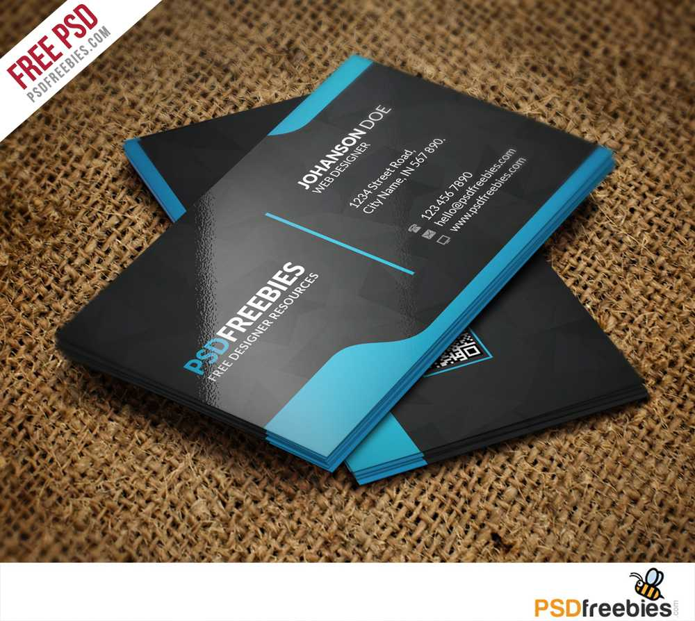 Graphic Designer Business Card Template Free Psd Throughout Free Psd Visiting Card Templates Download