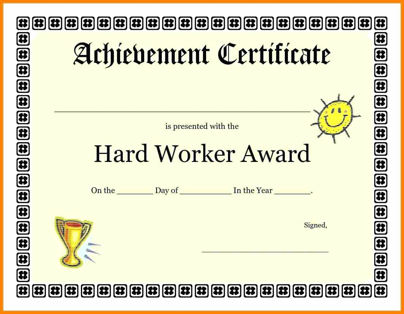 Great Job Template - Zohre.horizonconsulting.co Inside Good Job Certificate Template